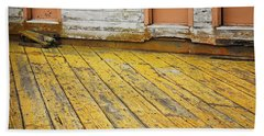 Weathered Monterey Building Beach Towel