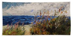 Wildflowers And Wind Beach Towel