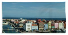 Willemstad Curacao Beach Towel