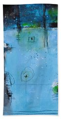 Beach Towel featuring the painting Winter by Nicole Nadeau