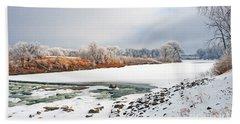Winter Red River 2012 Beach Sheet