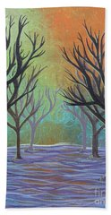 Winter Solitude 11 Beach Towel