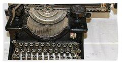 Woodstock Typewriter Beach Towel
