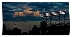 Wrigley Field Light Stand Beach Sheet