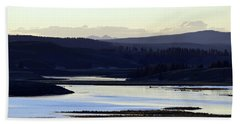 Yellowstone Landscapes Beach Sheet
