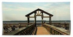 Yorktown Pier Beach Sheet