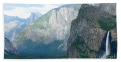Yosemite Bridalveil Fall Beach Towel