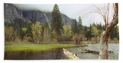 Yosemite Beach Towel by Mark Greenberg