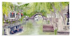 Zhou Zhuang Watertown Suchou China 2006 Beach Towel