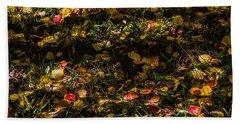 Autumn's Mosaic Beach Towel