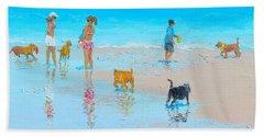 Dog Beach Day Beach Sheet
