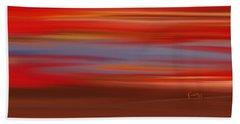 Beach Sheet featuring the digital art  Evening In Ottawa Valley by Rabi Khan