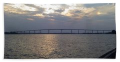 Gov Thomas Johnson Bridge Beach Towel