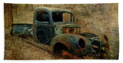 Resurrection Vintage Truck Beach Towel
