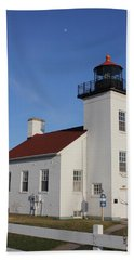 Sand Point Lighthouse Escanaba Beach Towel