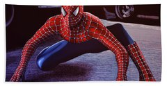 Spiderman 2  Beach Towel