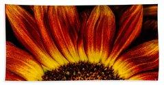 Sun Rise Sunflower Beach Towel