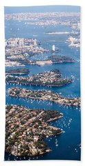 Beach Towel featuring the photograph  Sydney Vibes by Parker Cunningham