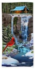 The Cardinal Rules Beach Towel by Glenn Holbrook