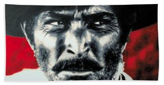 - The Good The Bad And The Ugly - Beach Towel by Luis Ludzska