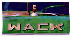 Wack Truck Beach Towel