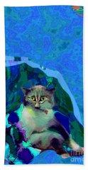 007 The Under Covers Cat Beach Sheet