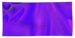 Beach Towel featuring the digital art #011620174 by Visual Artist Frank Bonilla