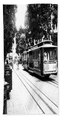 021016 San Francisco Trolly Beach Towel