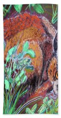 032917louisiana Swamp Rabbit Beach Towel