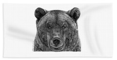 045 Papa Bear Beach Towel