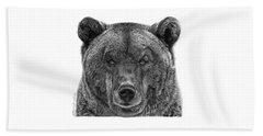 045 Papa Bear Beach Sheet by Abbey Noelle