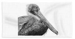 047 - Sinbad The Pelican Beach Sheet by Abbey Noelle
