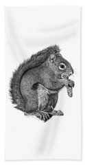 058 Sweeney The Squirrel Beach Towel