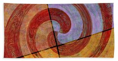 0581 Abstract Thought Beach Towel