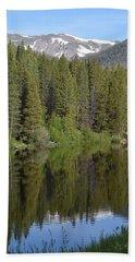 Chambers Lake Hwy 14 Co Beach Towel