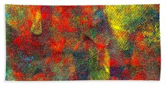 0786 Abstract Thought Beach Towel