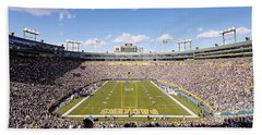 0991 Lambeau Field Beach Towel