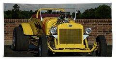 1928 Ford Bucket T Hot Rod Beach Towel