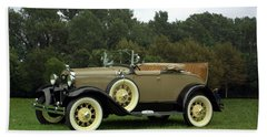 1931 Ford Model A Roadster Beach Sheet