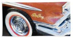 1958 Pontiac Star Chief  Beach Sheet by Rich Franco