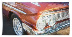Beach Towel featuring the photograph 1961 Chevrolet Impala Ss  by Rich Franco