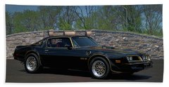1978 Pontiac Trans Am Beach Towel