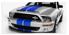 2008 Shelby Ford Gt500kr Beach Sheet