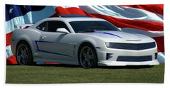 2012 Camaro Beach Towel
