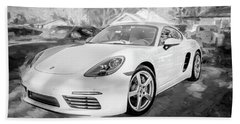 2017 Porsche Cayman 718 S  Bw    Beach Sheet