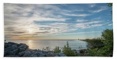 A New Day Beach Towel by James Meyer