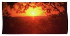 A Sun That Never Sets Beach Sheet