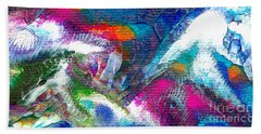Abstract 10115a Beach Towel