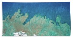 Abstract Aerial Reef Beach Sheet