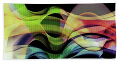 Beach Towel featuring the photograph Abstract Photography by Allen Beilschmidt
